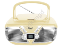 Boombox Trevi CMP562 CD MP3 USB kremowy