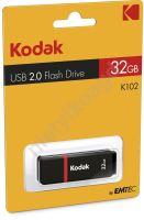 Pendrive Flash Drive USB 2.0 Kodak K102 32GB
