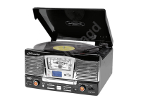 Radio retro gramofon TT1065E trevi CD MP3 USB SD - czarny